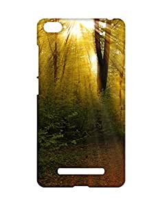 Mobifry Back case cover for Xiaomi Mi 4i Mobile ( Printed design)