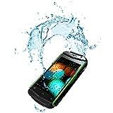 """Engel Axil Smart Free Titan 3.5 4GB Negro, Verde - Smartphone (8,89 cm (3.5""""), 320 x 480 Pixeles, IPS, 1 GHz, MediaTek, MT6572M)"""