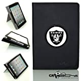 New SLEEP SMART Apple iPad Air (5th Gen) Ipad 5 leather Case By Calaboy- Interchangeable Design - Personalized Picture Frame w Oakland Raiders Logo (FB2) at Amazon.com