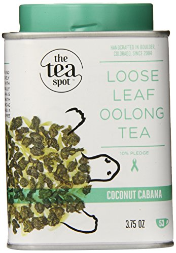 The Tea Spot Loose Leaf Tea, Coconut Cabana, 3.75 Ounce