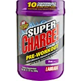 Labrada Nutrition Super Charge Xtreme Pre-Workout Energy Drink Mix (Grape)