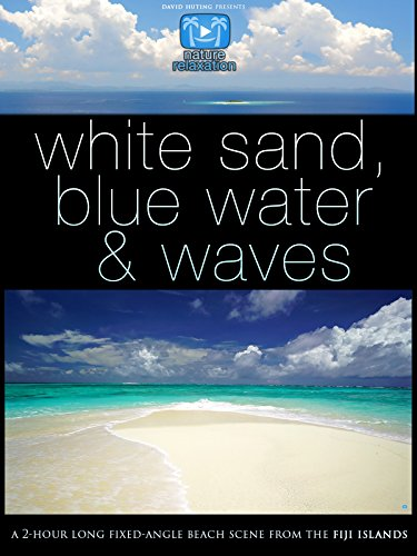 """White Sand, Blue Water & Waves"" 2 Hour Nature Relaxation Beach Scene"