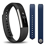 【日本正規代理店品】Fitbit フィットネスリストバンド Alta Large Black(Blue Lサイズバンドセット) FB406BKLBU-JPN