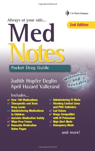 MedNotes: Pocket Drug Guide (Davis's Notes)