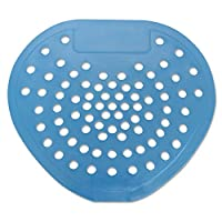 """Health Gards HOS 03904 Urinal Screen, Mint, 7-3/4"""" Width x 6-7/8"""" Height, Blue (Pack of 12) from HOSPECO"""