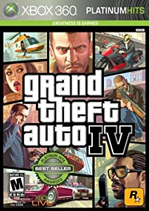 Grand Theft Auto IV - Xbox 360 (Standard Edition) by Take Two Interactive