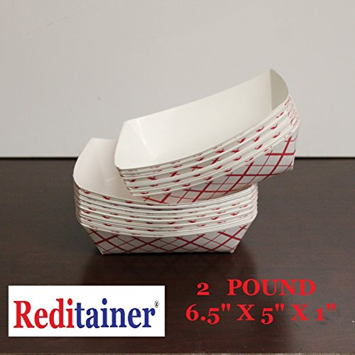 Reditainer® - Food Serving Trays (50, 2 Pound)