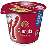 Special K Cereal Cup, Granola With Cranberries, 2.30 Ounce (Pack Of 12)