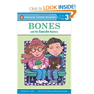 Bones and the Cupcake Mystery David A. Adler and Barbara Newman