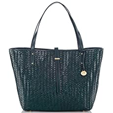 All Day Tote<br>Teal Woven Luxe