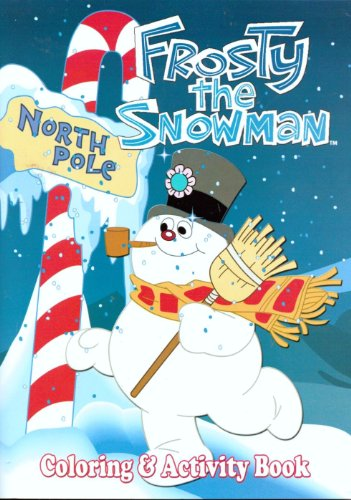 FROSTY THE SNOWMAN (Coloring & Activity Book)