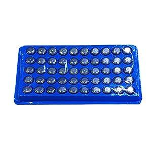 SODIAL(TM) 50 x AG13/LR44/A76 Alkaline button cell battery