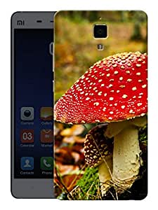 "Humor Gang Magic Mushrooms Printed Designer Mobile Back Cover For ""Xiaomi Redmi Mi4"" (3D, Matte, Premium Quality Snap On Case)"