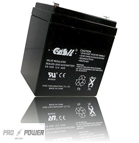 CASIL CA-1240 12V 4AH Hi-Capacity Equivalent of NEWMOX HOME ALARM Battery (Home Alarm Batteries compare prices)