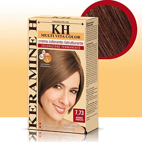 Keramine H Crema Colorante 7,73 Biondo Tabacco