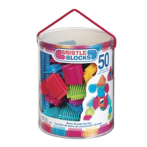 Bristle Block Bucket (50 Piece) battat ут 00009256