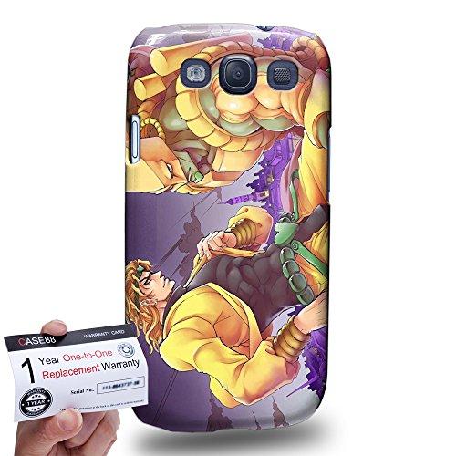 Case88 [Samsung Galaxy S3] 3D stampato Custodia/Cover Rigide/Prottetiva & Certificato di garanzia - JoJo's Bizarre Adventure: Stardust Crusaders Dio The World 3018