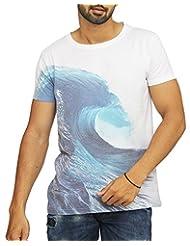 ORIGINAL VARSITY LEAGUE Men's Poly Cotton Slim Fit T-Shirt - B00XN8ZJ3E