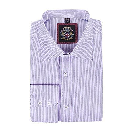 janeo-british-apparel-branded-classic-windsor-camicia-da-uomo-a-righe-sottili-singolo-polsino-manica