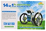 Little Treasures 14 In 1 Educational Solar Robot Kit offers so many choices for creative and learning Skills!