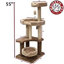 Hot Sale Majestic Pet 55-Inch Kitty Cat Jungle Gym