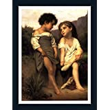 At The Edge Of The Brook - ArtsNyou Printed Paintings - B00QA0ZSF6