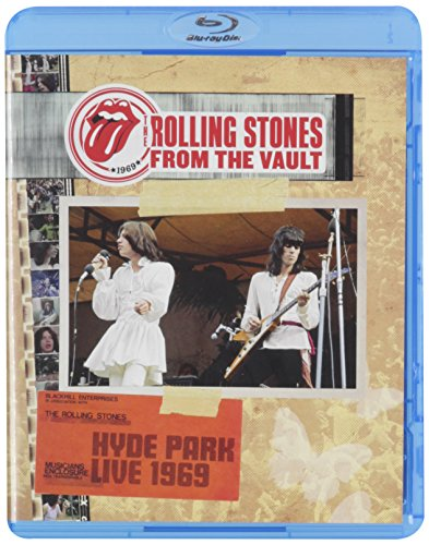 Blu-ray : The Rolling Stones - From the Vault: Hyde Park Live 1969 (Blu-ray)