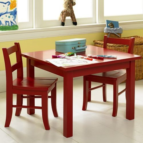 pottery barn kids my first table chairs childrens furniture. Black Bedroom Furniture Sets. Home Design Ideas