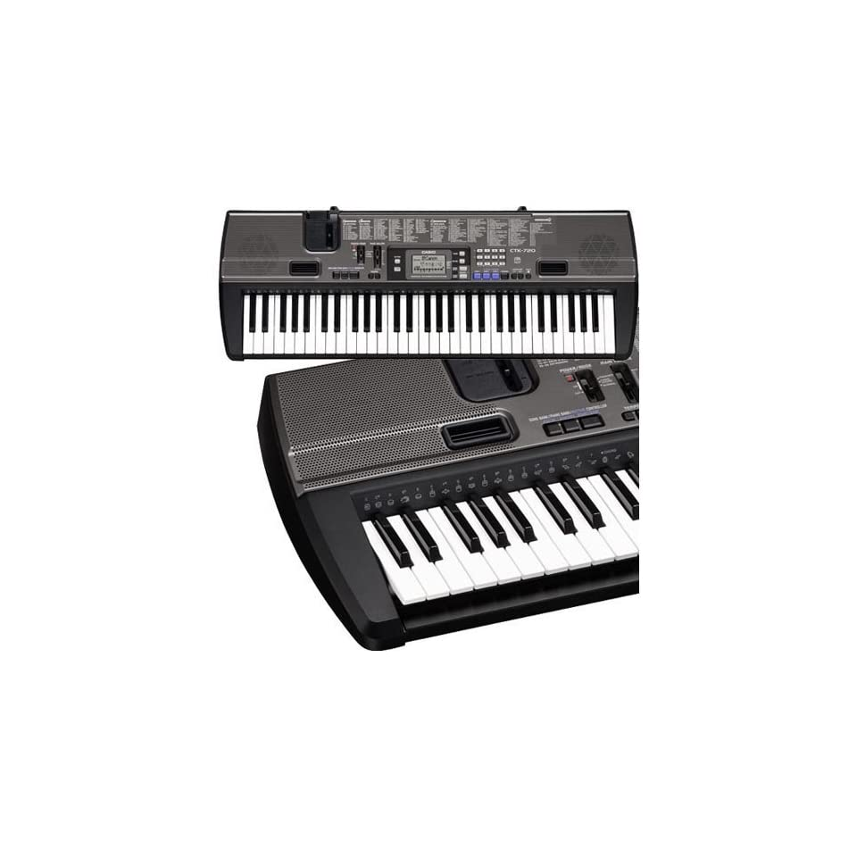 Casio CTK 720 61 Key Portable Keyboard
