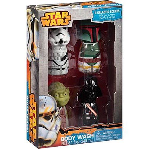 Star Wars Galactic Scents Body Washes Bath Gift Set, 4 pc