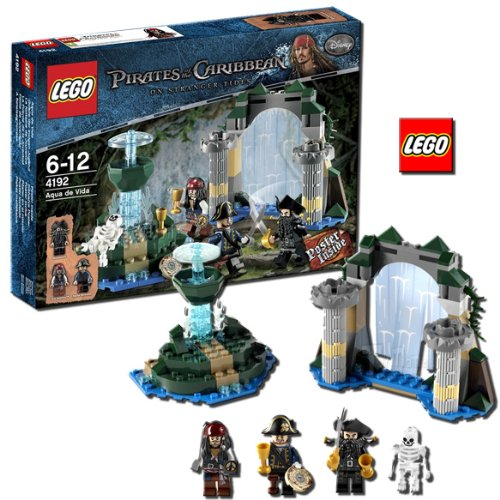 HOLIDAY DEAL LEGO Pirates Of the Caribbean Fountain of You