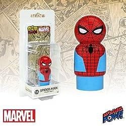 Bif Bang Pow! Captain America Civil War Spider-Man Pin Mate Wooden Figure