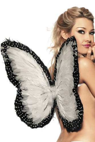 Be Wicked Costumes Women's Feather Wings 19 Inch X 21 Inch Costume Accessory
