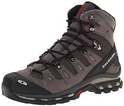 Salomon Men\'s Quest 4D GTX Backpacking Boot,Autobahn/Black/Flea,8.5 M US