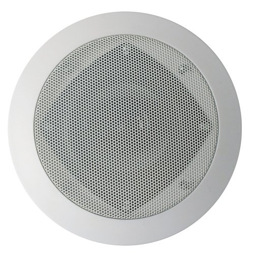 Acoustic Audio Cs-Ic43 200 Watt In Ceiling Speaker 3-Way Home Theater, White