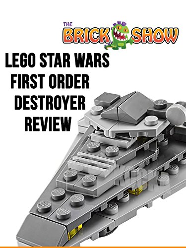 LEGO Star Wars The Force Awakens First Order Star Destroyer Review (30277)