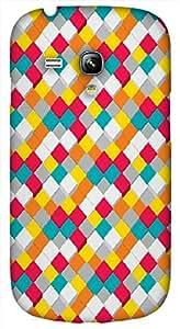Timpax protective Armor Hard Bumper Back Case Cover. Multicolor printed on 3 Dimensional case with latest & finest graphic design art. Compatible with Samsung S-3Mini - I8190 Galaxy S III mini Design No : TDZ-21904