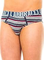 Baci & Abbracci Pack x 2 Slips (Gris Claro / Azul Marino / Rojo)