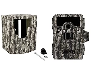 NEW MOULTRIE Game Spy M-990i No Glow Infrared Digital Game Camera + Security Box by Moultrie