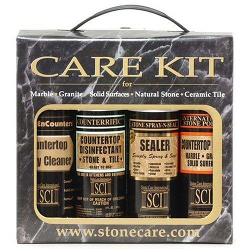 Stone Care International  Countertop Care Kit , 8-Ounce Bottles