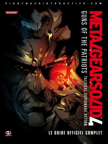 Guide Metal Gear Solid 4 : Guns of the Patriots (Offre de PlayLevel)