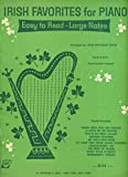 img - for Irish Favorites for Piano (Words & Music - Chord Symbols Included) book / textbook / text book