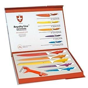 Kitchen Line Switzerland Knife Set 6 Pcs Amazon Co Uk