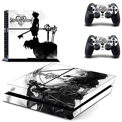 Junsi-Kingdom-Hearts-Body-Skin-Sticker-Decal-for-PS4-Playstation-4-ConsoleControllers