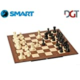 DGT SMART Board WI + Plastic weighted pieces - Electronic CHESS set - WI