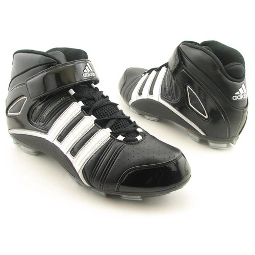Adidas Pro Intimidate 2 Ft Mens Size 16 Black Football Synthetic Running Shoes front-1035113