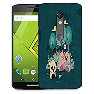 Snoogg Lonely Panda 2655 Designer Protective Phone Back Case Cover For Moto G 3rd Generation