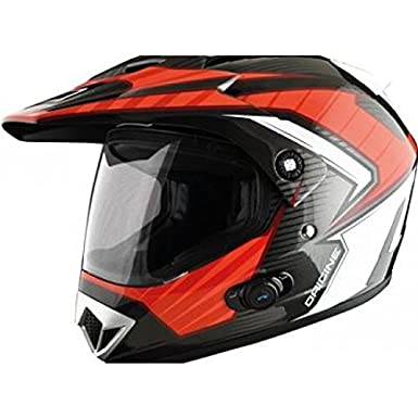 Casque origine gladiator solid bluetooth noir/rouge xs - Origine OR007092