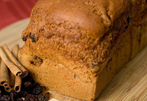 Deanna's Gluten Free Cinnamon Raisin Bread