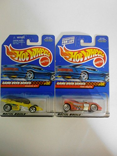 Mattel Hot Wheels Game Over Series #'s 2 & 4 (Out of 4)